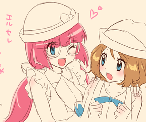 anime, girl, and pokemon image