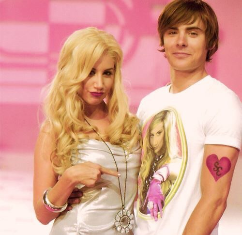 ashley tisdale, zac efron, and high school musical image