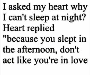 sleep, heart, and funny image