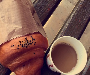 morning, nescafe, and bred image