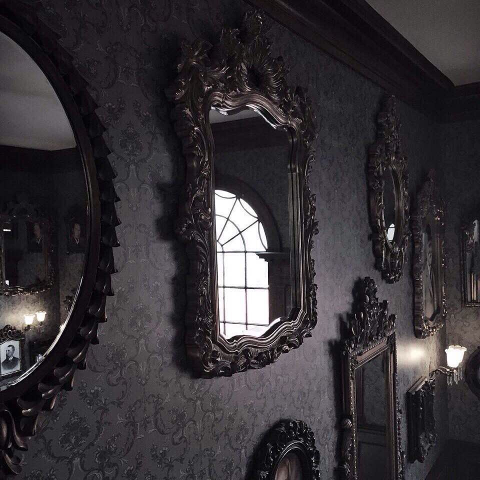mirror, dark, and black image