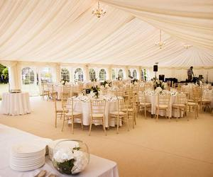 marquee, reception, and tent image