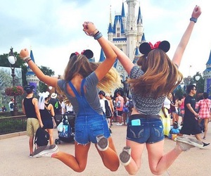 disney, best friends, and friends image