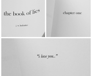 book, books, and lie image