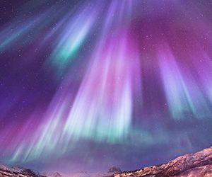 nature, sky, and northern lights image