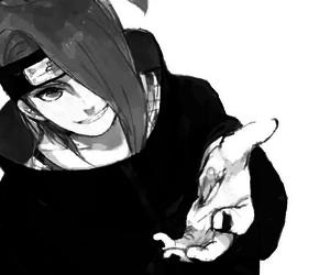 deidara, naruto, and anime image