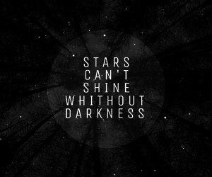 dark, deep, and quotes image