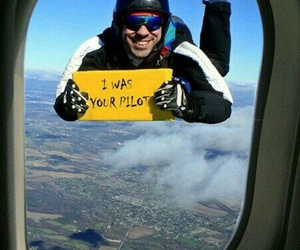 funny, pilot, and lol image