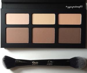 makeup, beautiful, and girl image