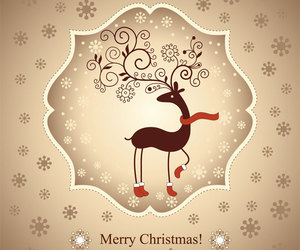 card, christmas, and colors image