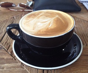cappuccino, food porn, and warm image