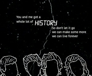 one direction and history image