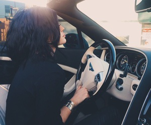 car, luxury, and jenner image