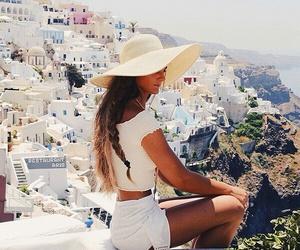 girl, fashion, and Greece image