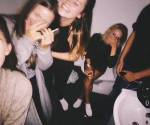 party, girl, and goals image