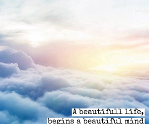 beautifull, clouds, and life image
