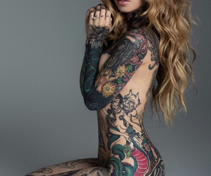 beauty, body, and ink image