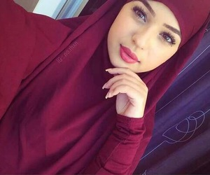 beautiful, jilbab, and goal image