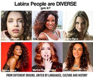 LATINAS and latino image