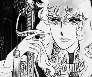 anime, lady oscar, and rose of versailles image