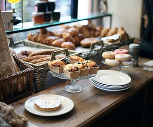 food, bakery, and muffin image