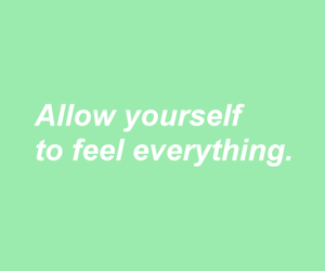 green, header, and quote image