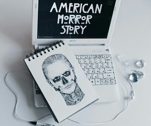 ahs, american horror story, and drawing image