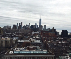 city, greenwich village, and skyline image