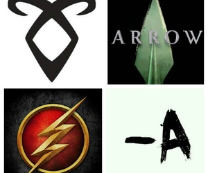 arrow, the cw, and the flash image