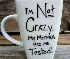 crazy, cup, and mug image