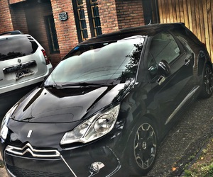 citroen, ds3, and ds3 black image