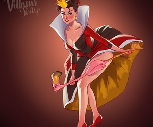 disney, villain, and alice image