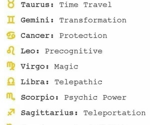 zodiac, superpowers, and the signs image
