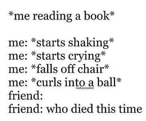 books, funny, and lol image