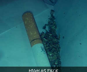green, high, and weed image