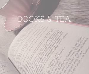 book, quote, and tea image