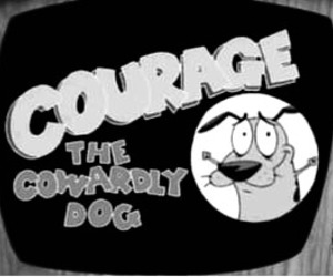 courage, courage the cowardly dog, and dog image