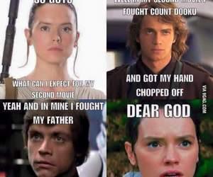 star wars, Anakin Skywalker, and luke skywalker image