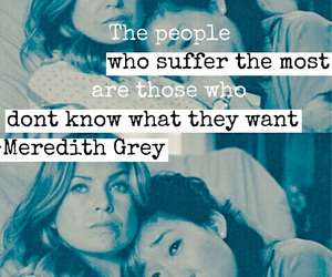 ellen pompeo, meredith grey, and quote image