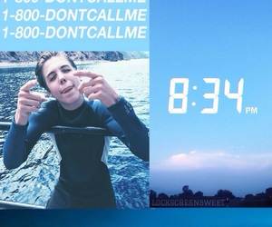 blue, lockscreen, and matthew espinosa image