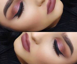 fashion, maquiagem, and pink image