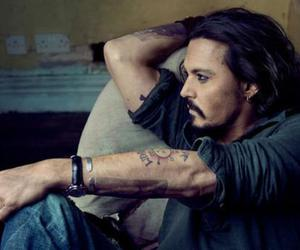 actor, johnny depp, and boy image