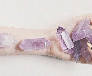crystal, grunge, and purple image