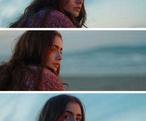 lily collins, love rosie, and simplesmente acontece image