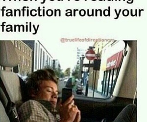 Harry Styles, one direction, and fanfiction image