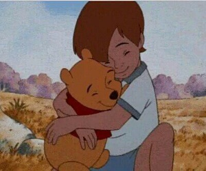 bear, disney, and hug image