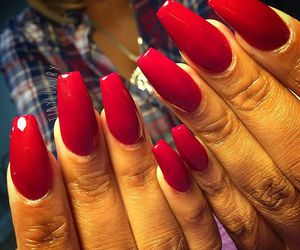 colorful, red, and ✿⊱╮✿⊱╮nails✿⊱╮ image