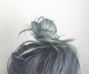 alternative, grey hair, and dyed hair image