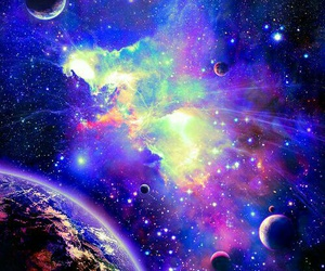 galaxy, space, and universe image