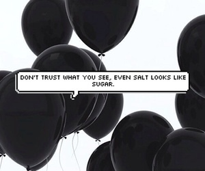 background, balloons, and black and white image